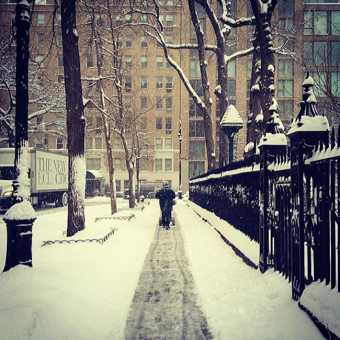 Slika 17 Njujork: Veje, veje i ne planira da stane