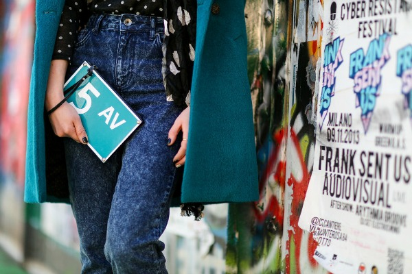 Slika 192 Zvezde među aksesoarima na Nedelji mode u Milanu