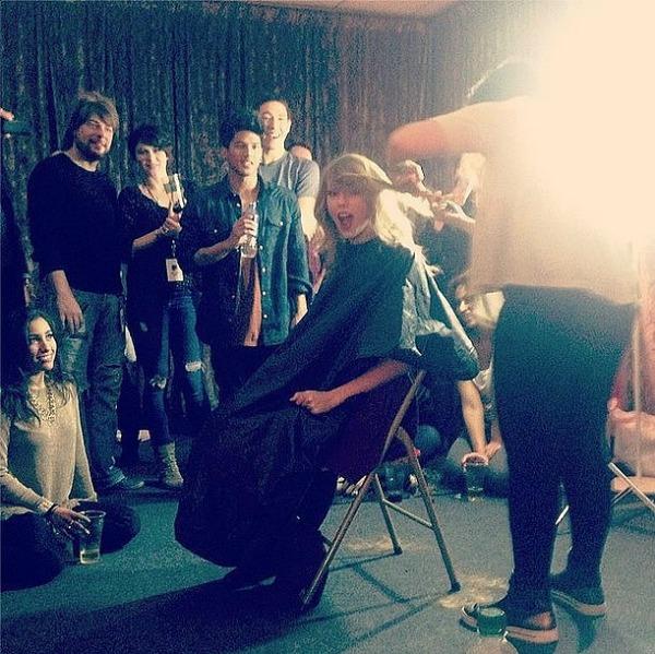 Slika 254 Promene frizura promovisane na Instagramu