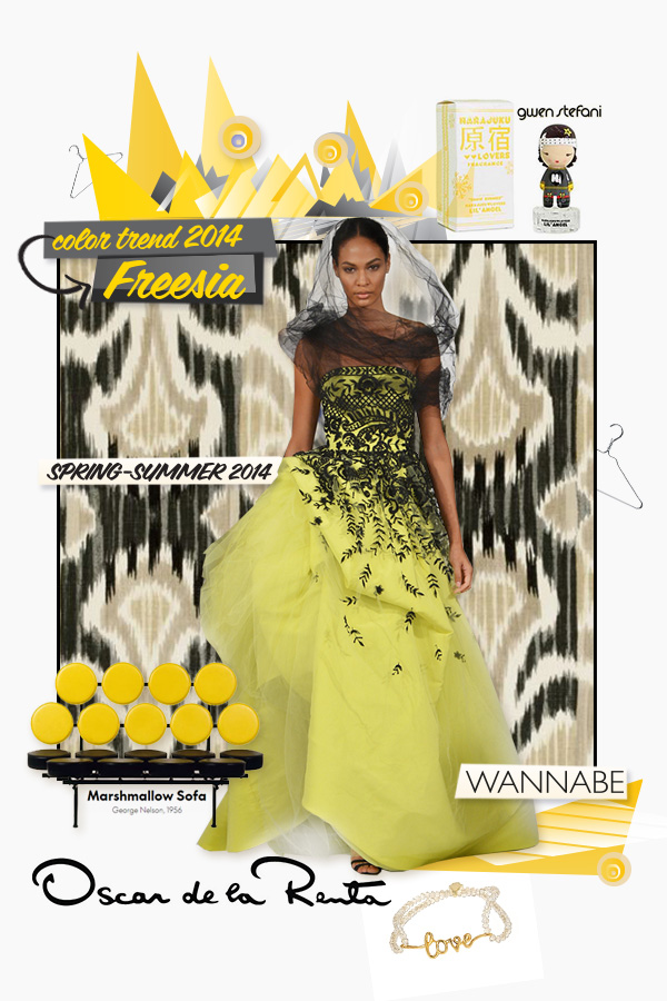 Slika 3oscar de la renta Fashion Color Report: Božanstvena frezija