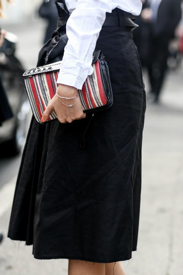 Slika 439 Zvezde među aksesoarima na Nedelji mode u Milanu