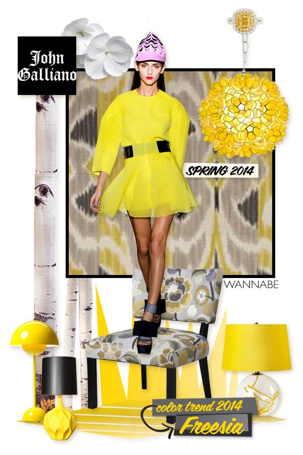 Slika 4galliano wannabe Fashion Color Report: Božanstvena frezija