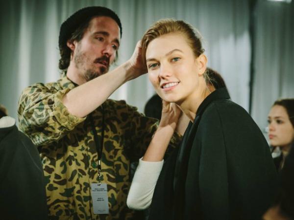 Slika 55 Iza scene: Modeli sa Nedelje mode u Njujorku