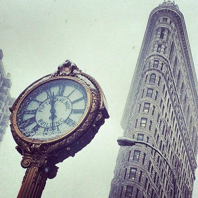 Slika 83 Njujork: Veje, veje i ne planira da stane