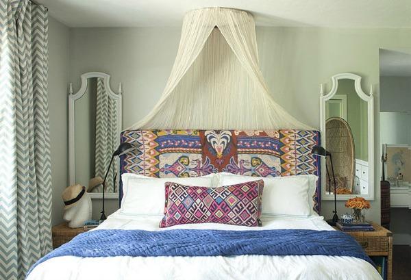 Slika122 Nekoliko briljantnih ideja da dekorišete prostor uz pomoć marama