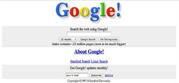 Slika29 Popularni sajtovi: Nekad i sad