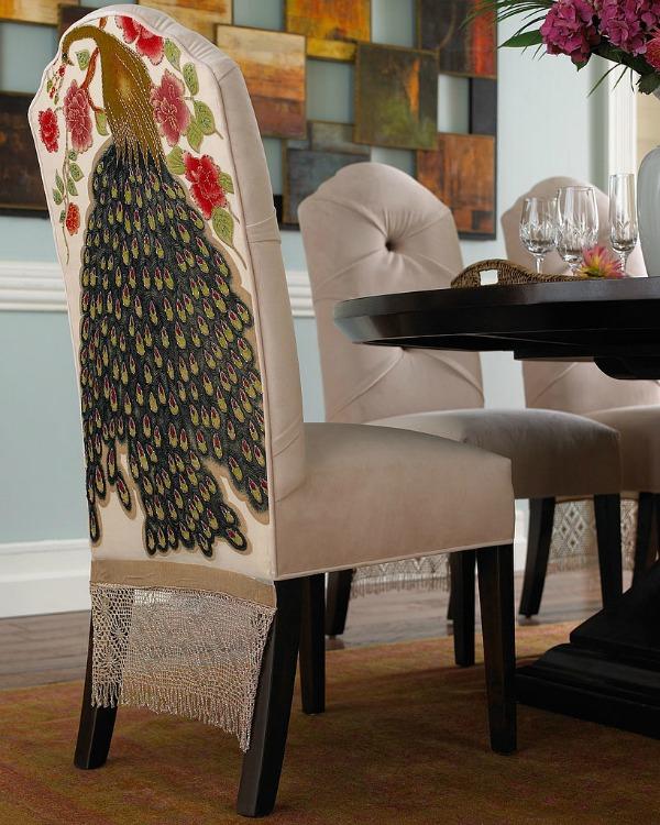 Slika75 Nekoliko briljantnih ideja da dekorišete prostor uz pomoć marama