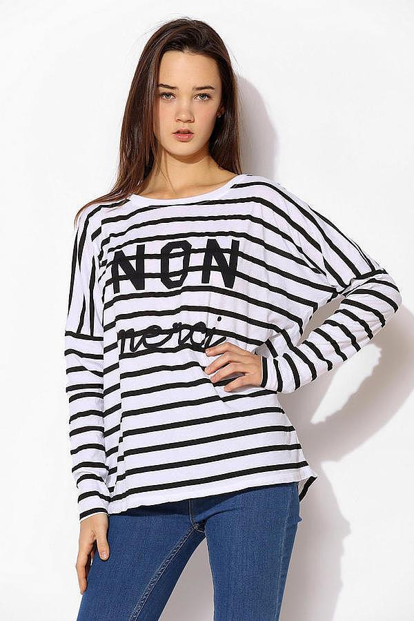 Truly Madly Deeply Merci T shirt Učimo francuski, a volimo modu