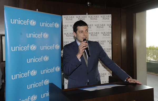 Unicef Square Nine Goran Kovacevic UNICEF & Square Nine započeli saradnju na projektu Change for Children
