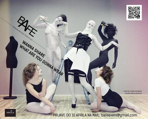 bafe konkurs1 blacksheep.rs  BAFE raspisuje konkurs za mlade modne dizajnere
