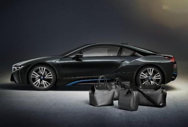 bmw i8 louis vuitton luggage 600x404 Louis Vuitton i BMW odličan su spoj
