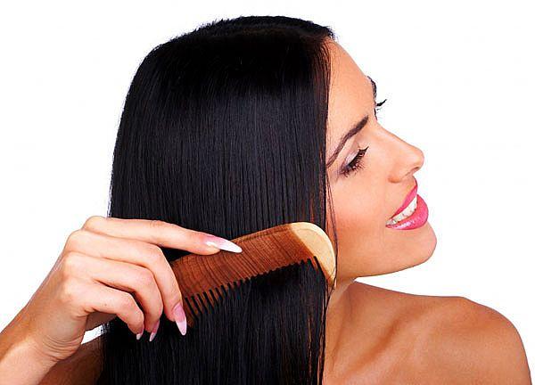 combing straight hair Full Pravila za zdraviju kosu