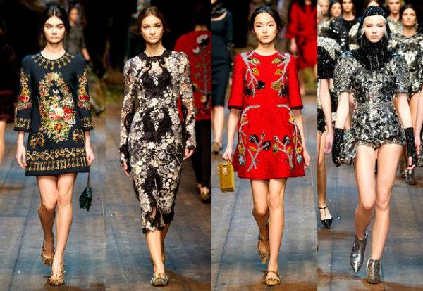 embedded Dolce and Gabbana fall 2014 Nedelja mode u Milanu: Ženstvenost i elegancija
