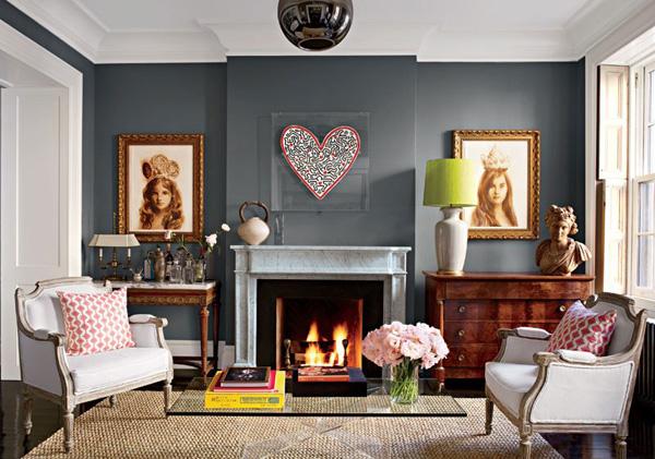item9.size .0.0.gray rooms 10 brooke shields new york townhohse living room Moj enterijer: Sve nijanse sive