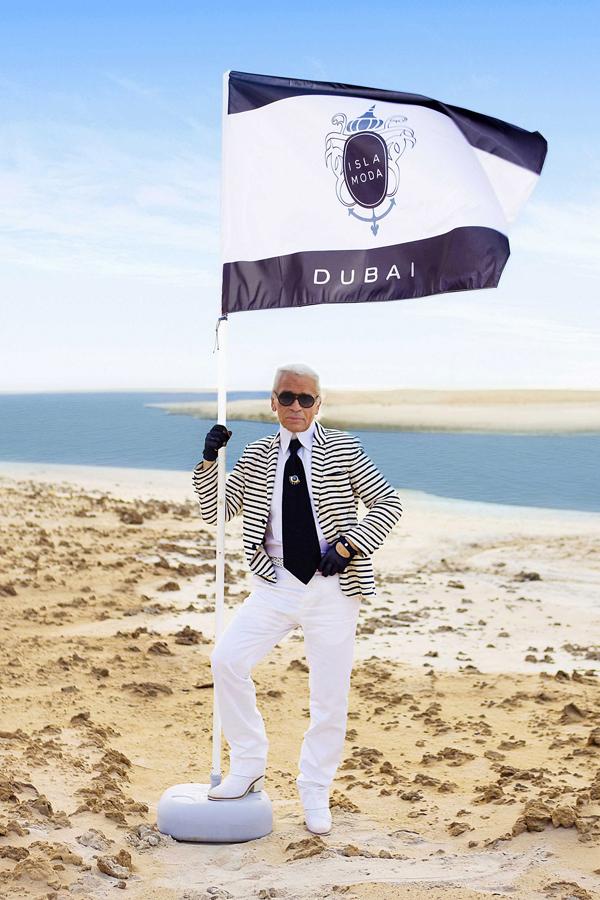 klagerfeld isla moda v 13oct10 rex b Chanel osvaja Dubai