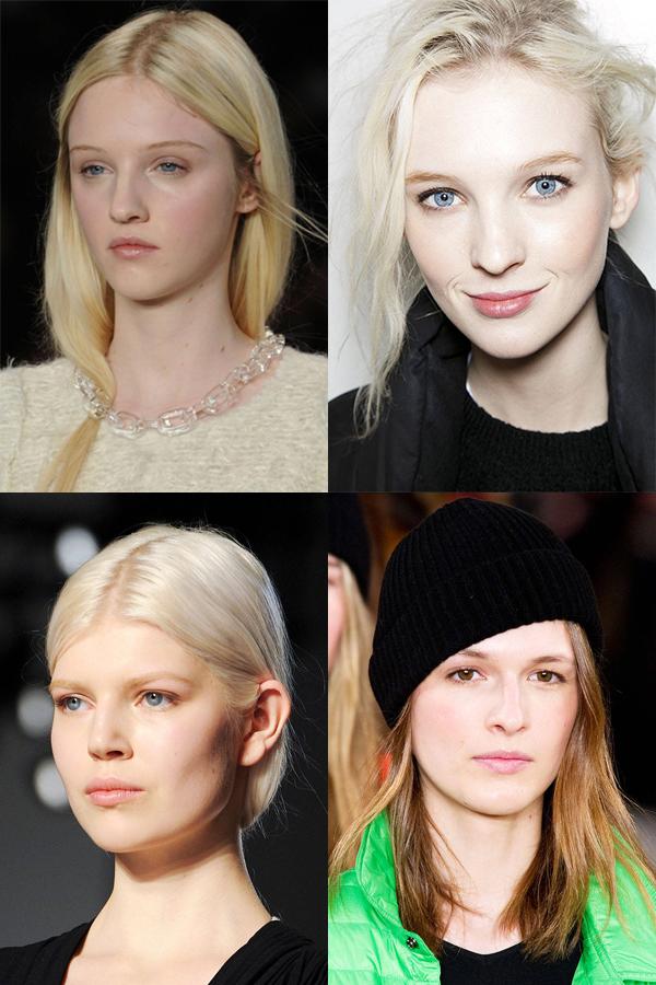 klein kors beckham lauren nyfw Make up trendovi sa Nedelje mode u Njujorku