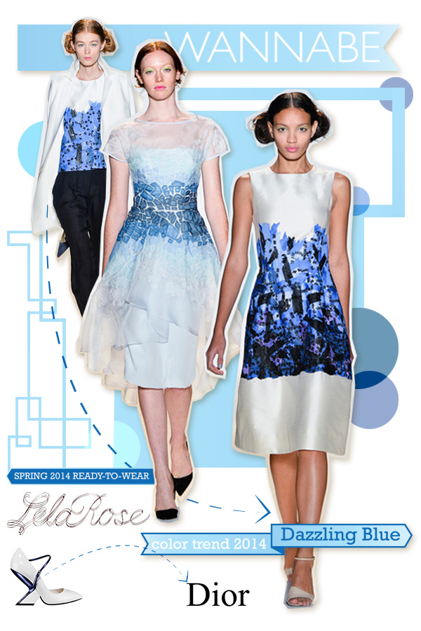 lela rose dazzling blue wannabe Fashion Color Report: Zaslepljujuća plava