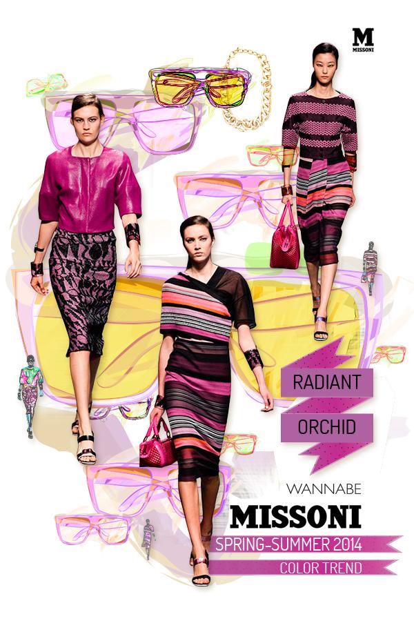 misssoni radiant orchid wannabe Fashion Color Report: Magična boja Radiant Orchid
