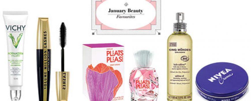 January Beauty Favourites