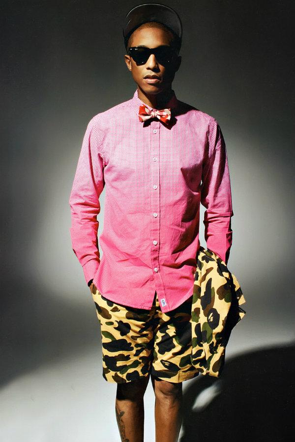 pharrell williams happy Modni stil Farela Vilijamsa: Dečački i smelo
