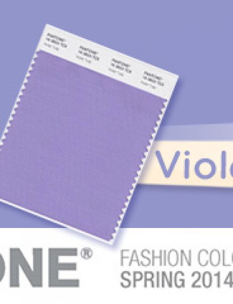 Fashion Color Report: Violet Tulip