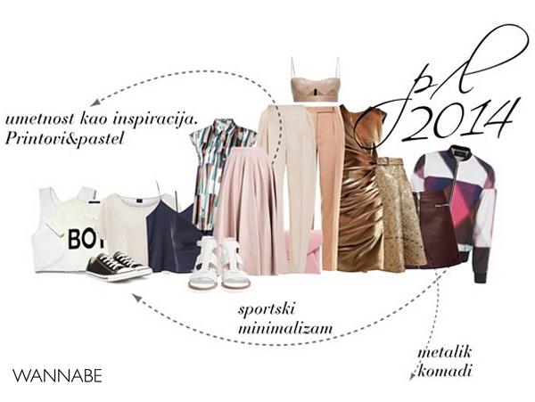 prolece leto 2014 Šta smo to nosili prošlog proleća, a šta nas čeka ovog?