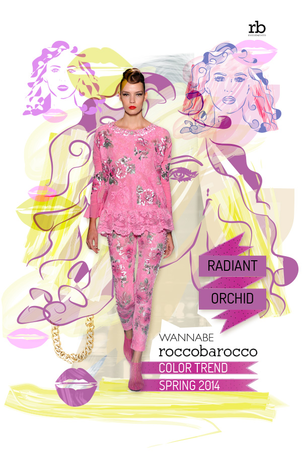 radiant orchid rocco wannabe Fashion Color Report: Magična boja Radiant Orchid
