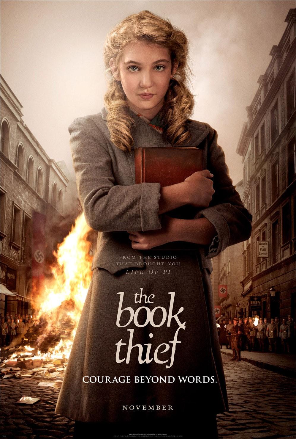 the book thief poster Film koji morate pogledati: Kradljivica knjiga