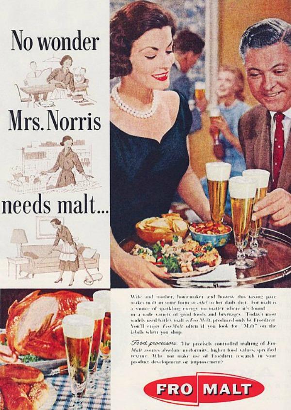 176 Vintage reklame za pivo sa ženama