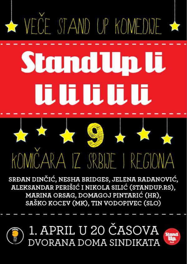 198 Veče stand up komedije