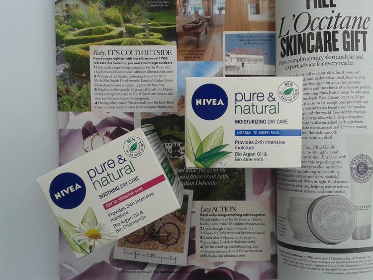 20140121 115727 It's Time for Nivea: Linija Pure & Natural