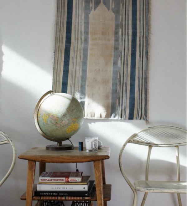 25 Trik za dekoraciju sobe: Umetnički tekstil za zid