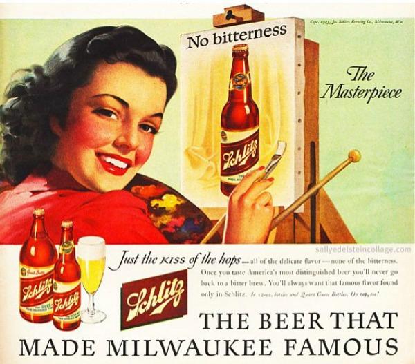 259 Vintage reklame za pivo sa ženama