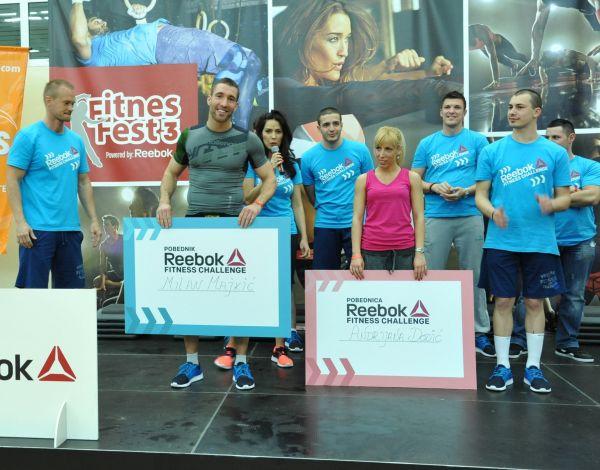 282 Reebok nagradio pobednike fitnes izazova!