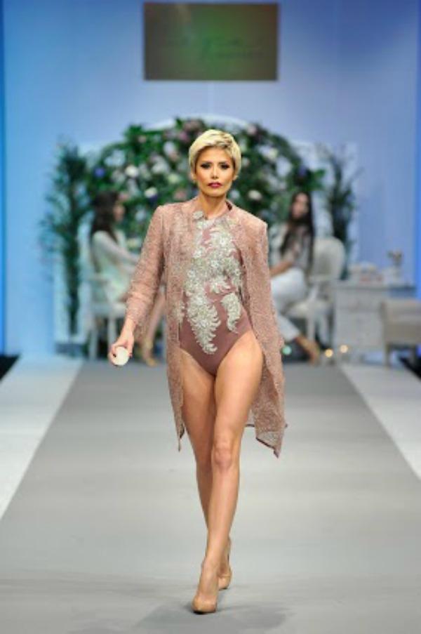 3 Ana Mihajlovski u ulozi modela Treće veče Perwoll Fashion Weeka