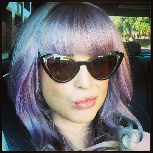 322 Ljubičasta boja kose je novi trend