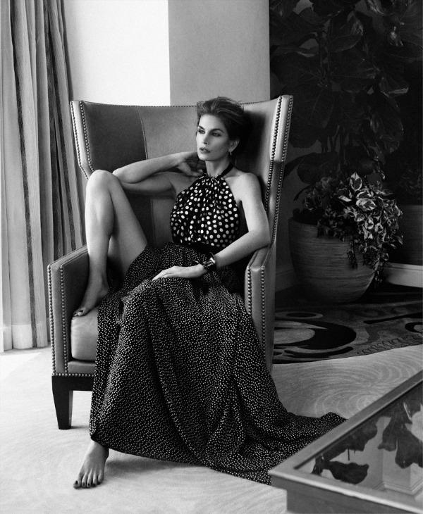 "344 ""Harpers Bazaar Russia"": Super glamurozna Sindi Kraford"