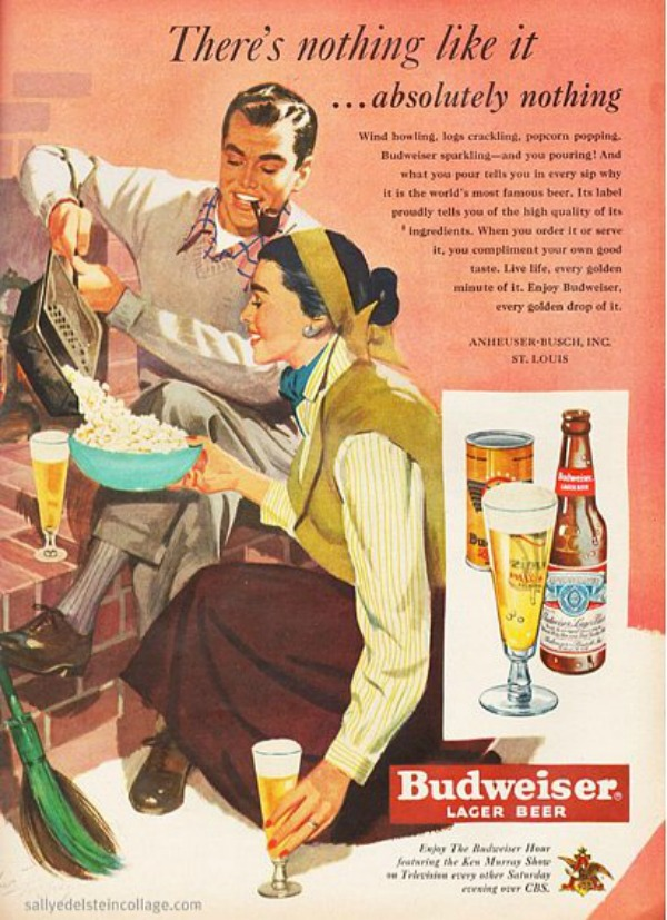 437 Vintage reklame za pivo sa ženama