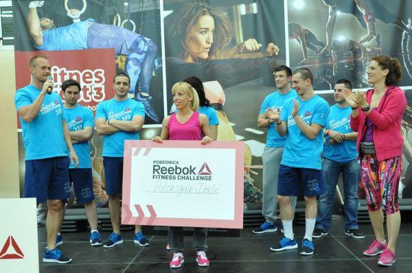 540 Reebok nagradio pobednike fitnes izazova!
