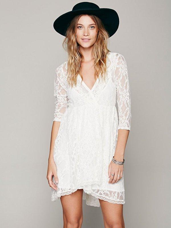 600xNxwhite lace dress.jpg.pagespeed.ic .Lobqy5uNk5 Haljine koje volimo: Lepršavo, lepršavije