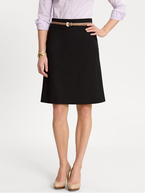 6b426  Modern A Line Skirt Design Poslovna moda: Šta obući za tople dane?