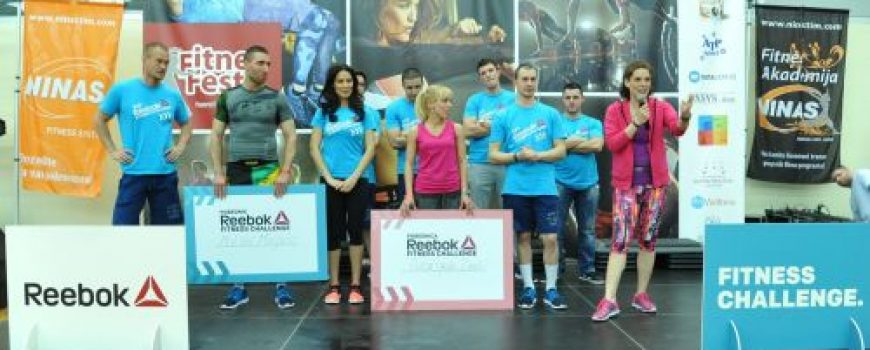 Reebok nagradio pobednike fitnes izazova!