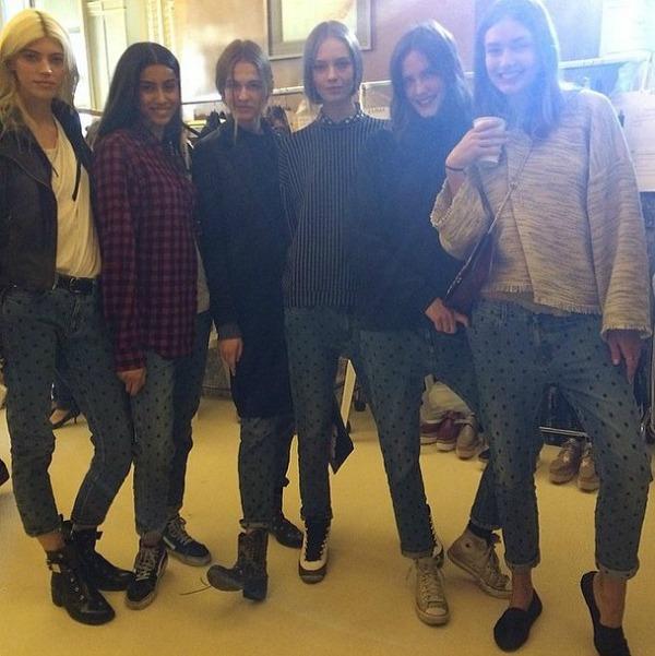 93 Fashion Celebrity Instagram: Čari velegrada