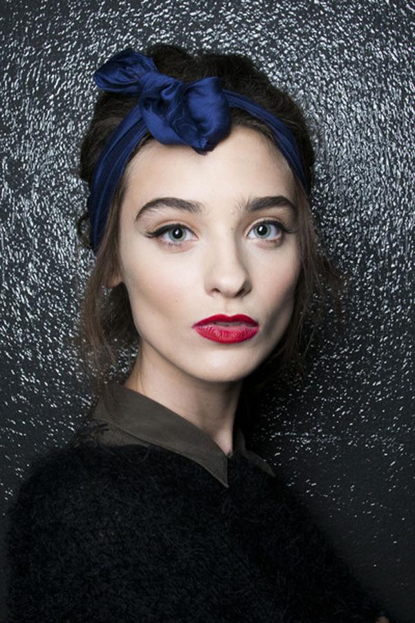 Alexis+Mabille+Spring+2014+Backstage+NIijvtQRbsCl Marame za kosu su u trendu