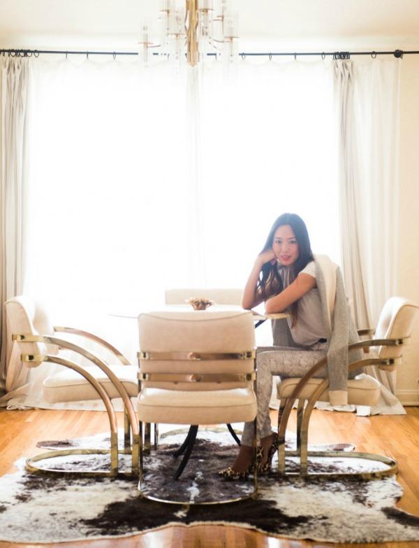 Ami Song trpezarija  Zavodljiv enterijer doma poznate blogerke: Ejmi Sung