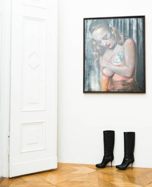 Andjelika Tasen slika  U njenom domu: Anđelika Tašen