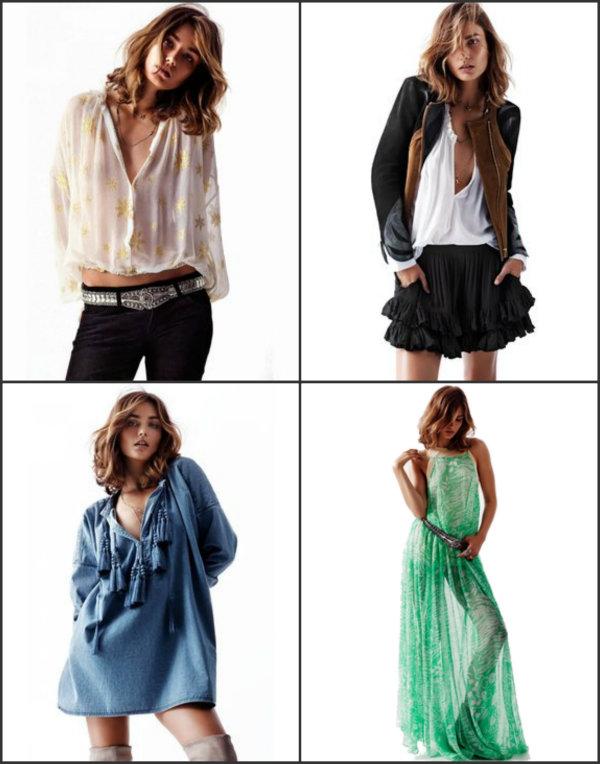 Collage1 Proleće u H&M u: Lepršavo, sveže i seksi