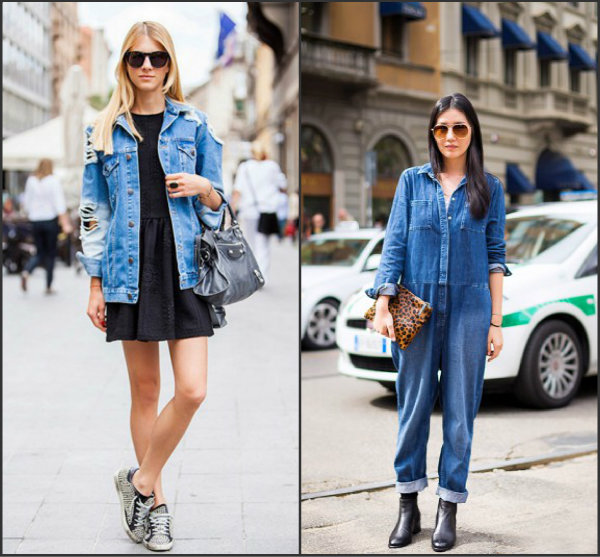 Collage2. jpg Street Style: Džins manija