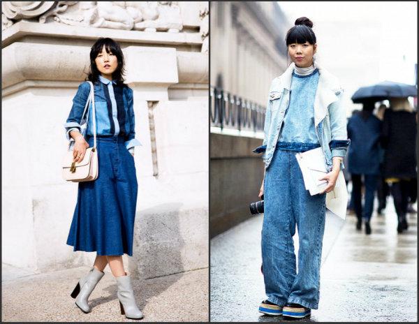 Collage3 Street Style: Džins manija