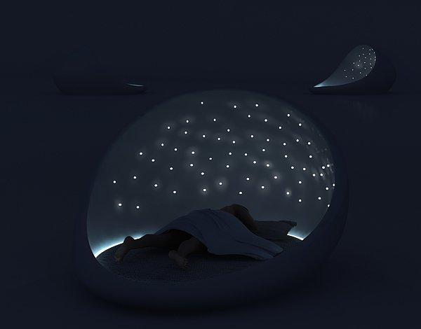 Cosmos Bed Nighttime High Tech kreveti: Potreba ili preteranost?